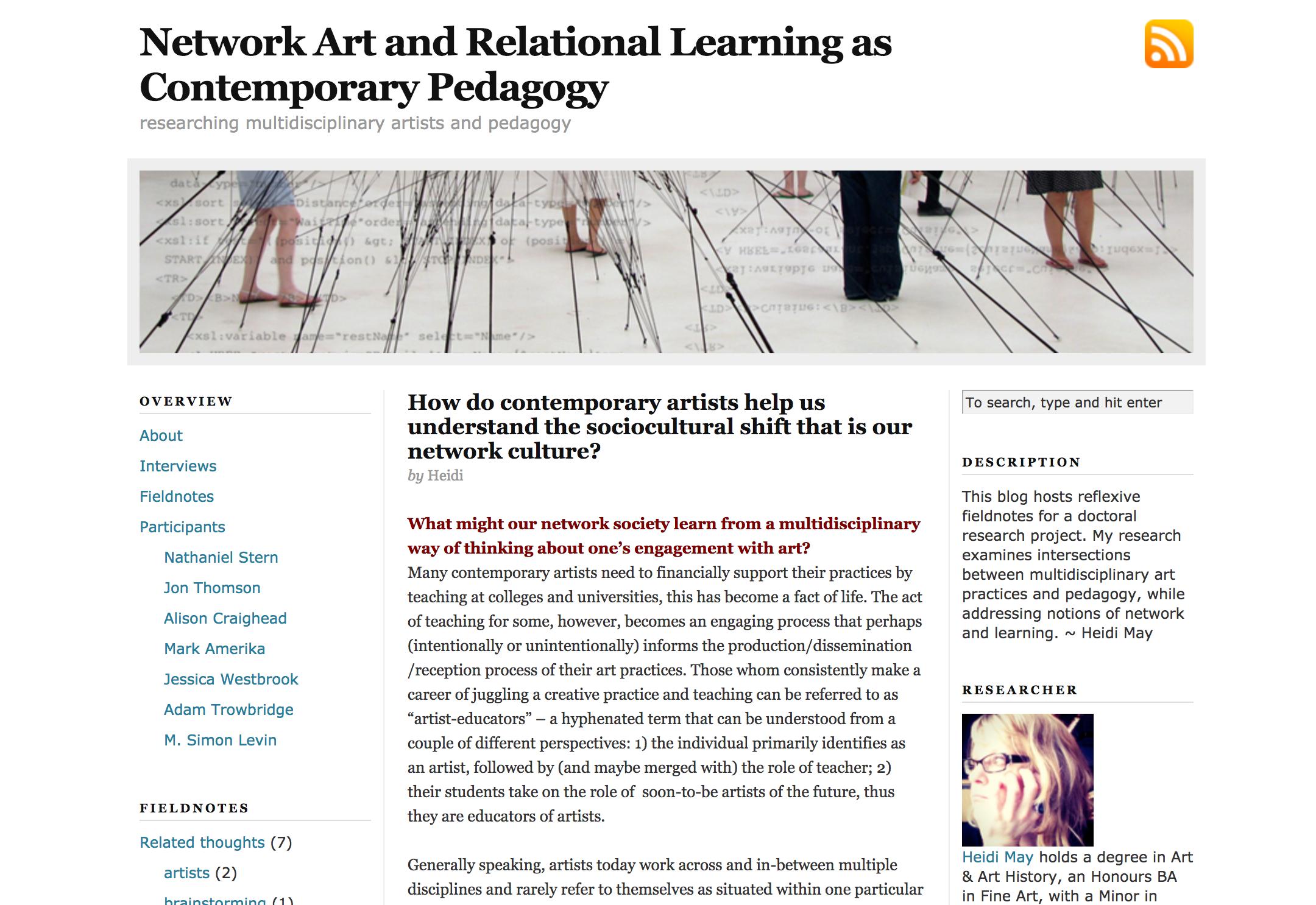 Dissertation digital art